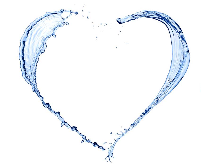 Water Heart refer a friend