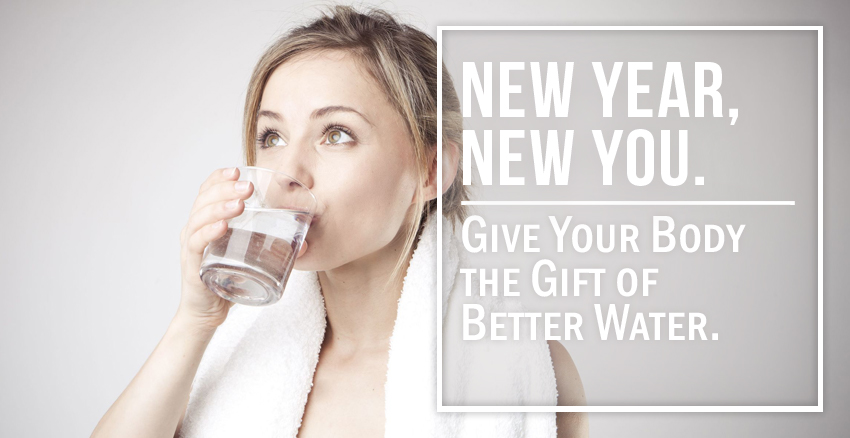 A new year of better water and a better you banner