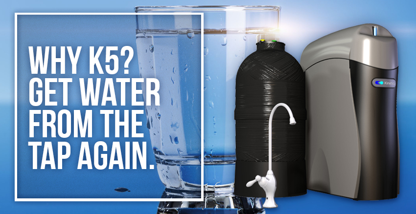 K5. Most Versatile Drinking Water System On The Planet