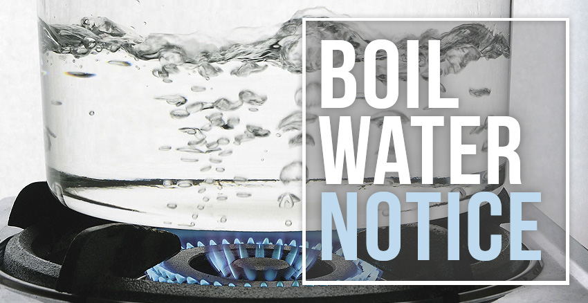 A Boil Water Notice — What To Do