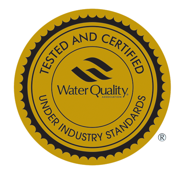 Water Quality tested seal